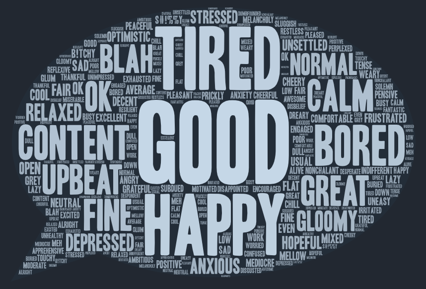 Week 6 word cloud - dark background